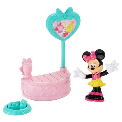Disney Junior Minnie Mat - disney junior minnie sippin smoothie stand with minnie at