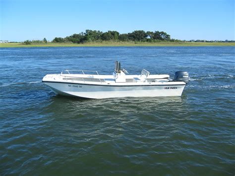 jon boats wilmington nc sea mark 21 skiff with a yamaha four stroke not jones