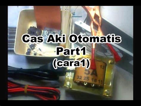 cara membuat powerbank menggunakan aki motor cara membuat cas aki otomatis part1 cara1 youtube