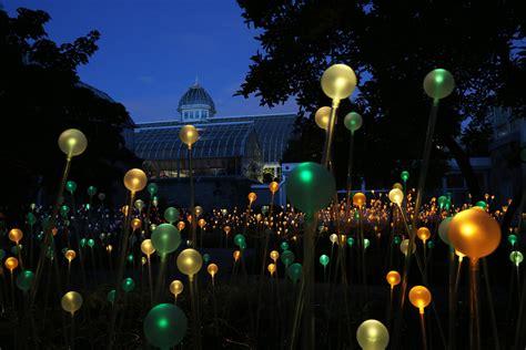 Light Field by Glowing Field Of Light Installation Will Illuminate