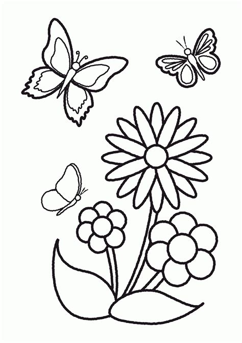 Flower Ideas drawing flowers and butterflies drawings of flowers and