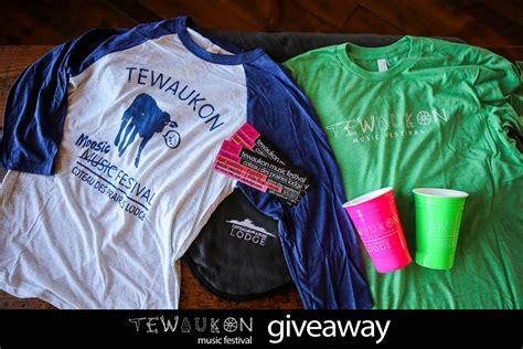 Music Gear Sweepstakes - giveaway tewaukon music festival tickets gear coteau des prairies lodge