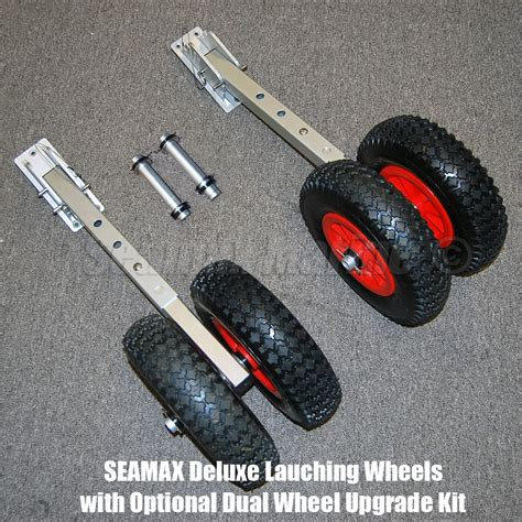 zodiac boat with wheels seamax deluxe boat launching dolly with 12 inches wheels
