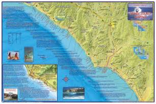 southern california surf map southern california surf map california map