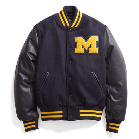 College Football Varsity Letter Michigan Gear Mgoblog