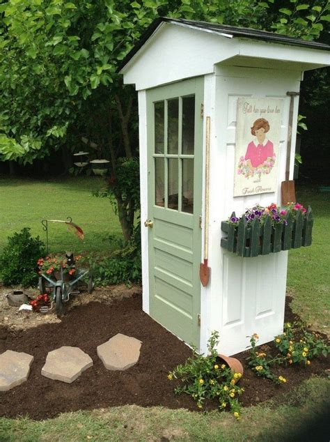 build your own whimsical garden tool shed diy projects