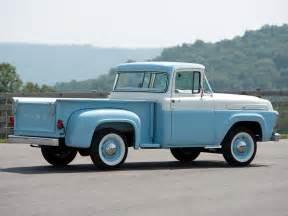1958 Ford Truck 1958 Ford F 100 Custom Cab Flareside 8 3 F100