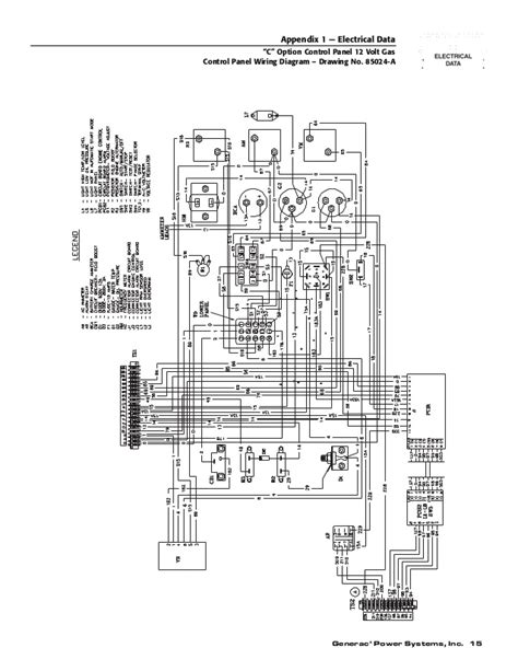 wiring diagram 17kw standby generator industrial electric