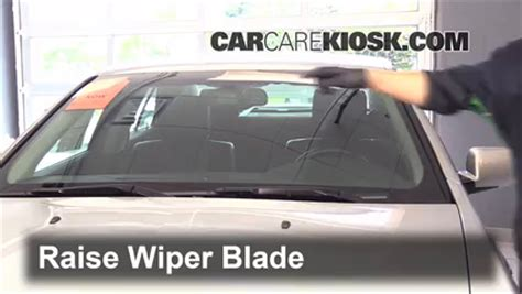 blade rubber sts front wiper blade change cadillac sts 2005 2011 2011