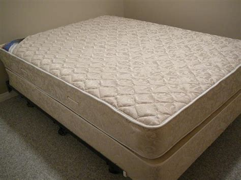 sized bed mattress boxspring and frame saanich