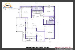 Elevation And Floor Plan Of A House by Home Plan And Elevation Kerala Home Design And Floor Plans