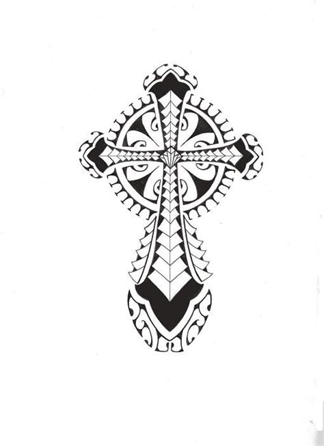 polynesian cross tattoo tribal polynesian cross by smekeal00 deviantart on