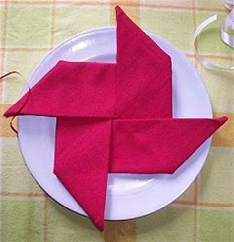 How To Fold Paper Napkins Into Shapes - 110 best napkin folding images on napkin