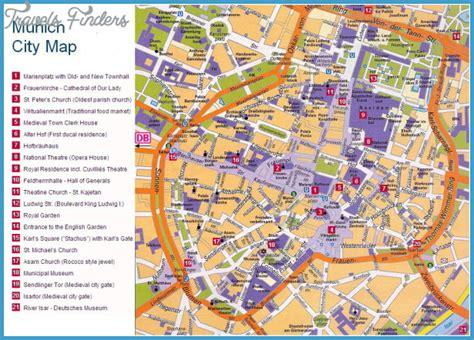 munich metro map munich map travelsfinders