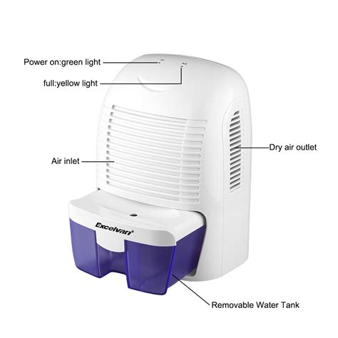 Dehumidifier For Bathroom Moisture Dehumidifier 1 5l Moisture Air Dryer Home Bedroom Bathroom