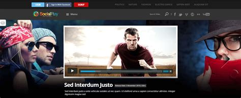 metacafe mobile site 27 free and premium responsive themes