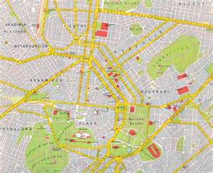 map of athens map of athens greece free printable maps