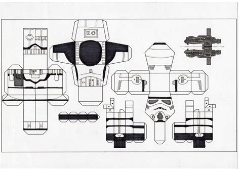 stormtrooper paper template by ditch scrawls on deviantart