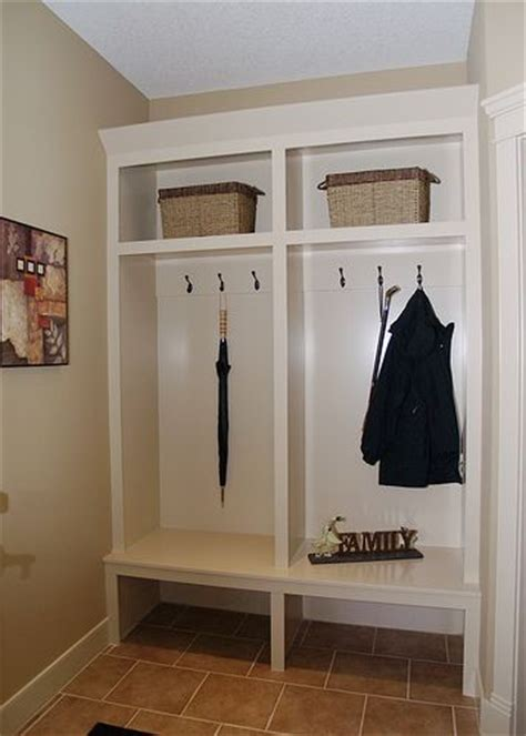 images  mudroom ideas  pinterest basement ideas mudroom cabinets  white doors