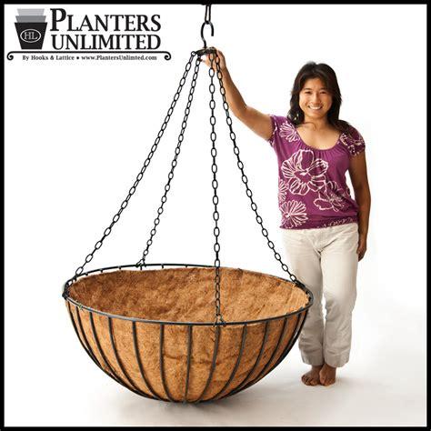 large commercial mega hanging baskets planters unlimited