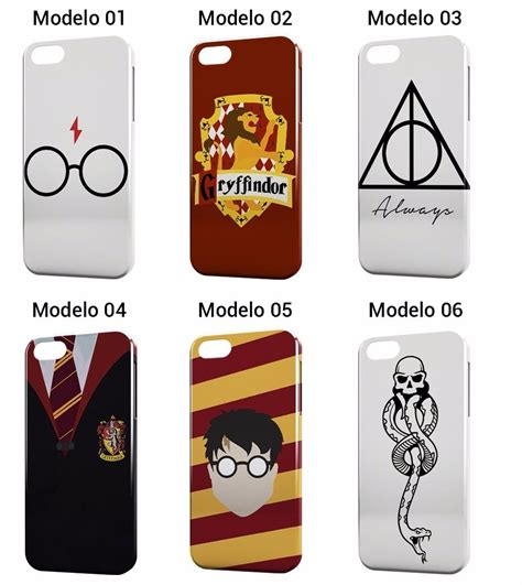 Hp Iphone 5 S capinha 3d harry potter hp capa iphone 4 4s 5 5s 5c 6 6