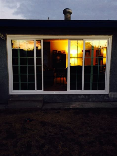 12 Foot Sliding Patio Doors by 12 Ft 4 Panel Sliding Glass Door With Colonial Grid Yelp