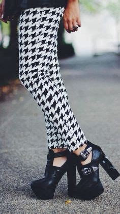 samii ryan what she wore style pied de poule on pinterest houndstooth roll
