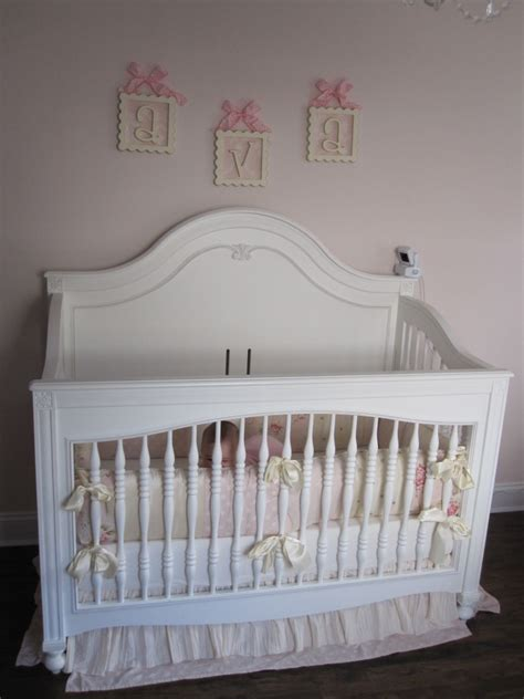 pink and white nursery ava s pink and white shabby chic nursery project nursery