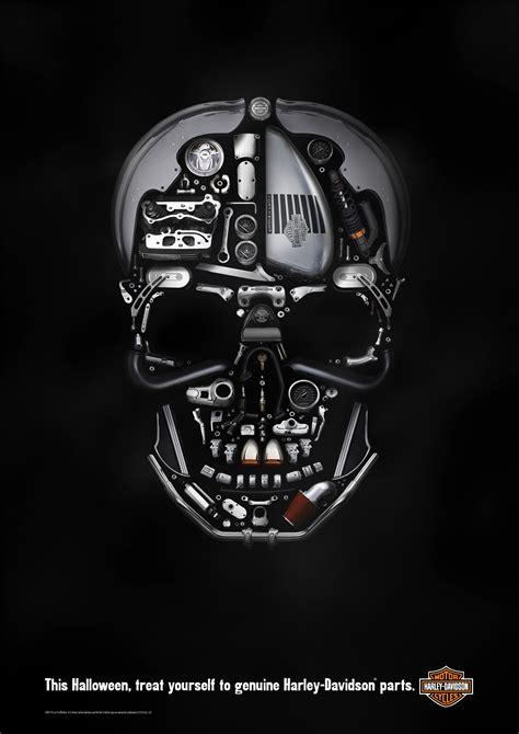 Poster Harley Davidson 1 harley davidson print advert by zulu alpha kilo