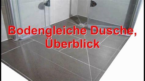 ebenerdige duschtasse duschwanne ebenerdig gispatcher