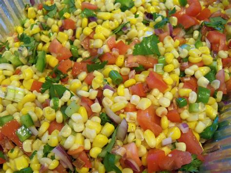 corn recipe cold corn salad