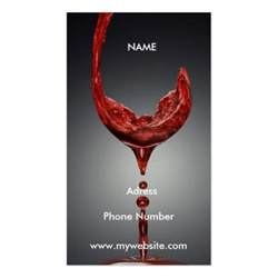 wine business cards wine business card zazzle
