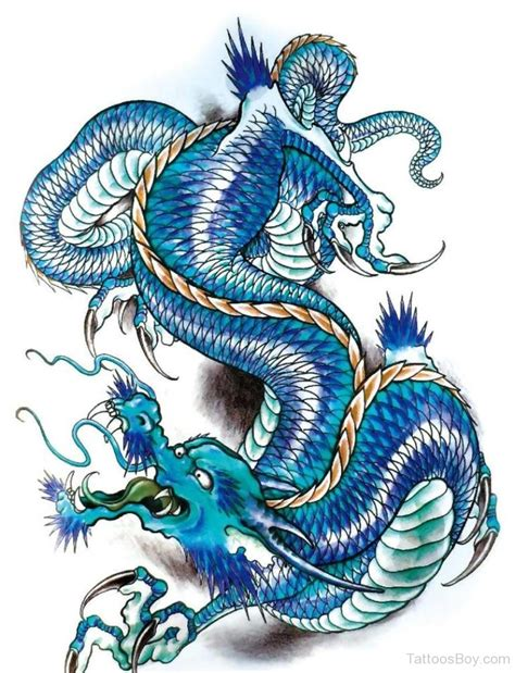 blue dragon tattoo designs tattoos designs pictures page 6