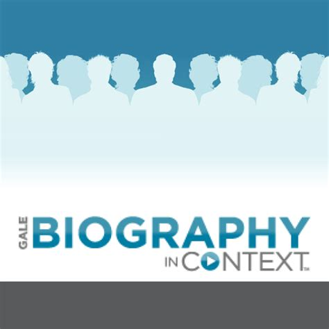 biography in context library gt research and e content