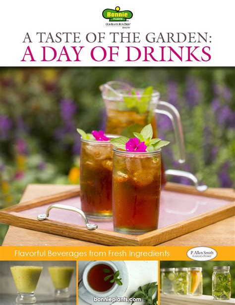 Garden Taste by Bonnie Taste Of The Garden A Day Of Drinks By P Allen