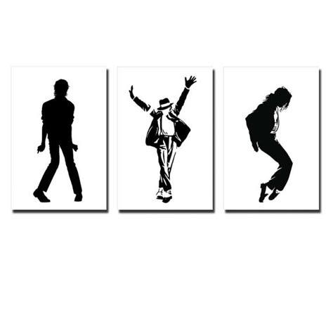 imagenes en blanco y negro de michael jackson lona michael jackson baile movimiento silueta en blanco y