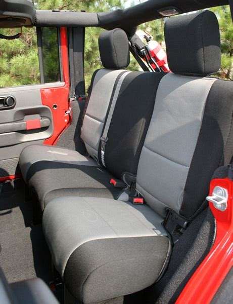 best jeep wrangler jk seat covers all things jeep rear seat cover for jeep wrangler jk 4