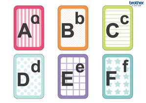 Diy Alphabet Flash Card Template by Free Printable Alphabet Flash Cards Creative Center