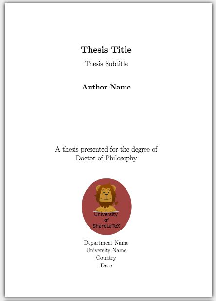 dissertation cover page design how to write a thesis in pt 5 customising your