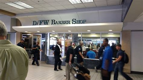 haircut in dallas airport are there airports with barber shops inside the terminals