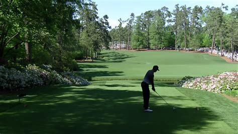 watch tiger woods 13th hole round 3 2018 masters