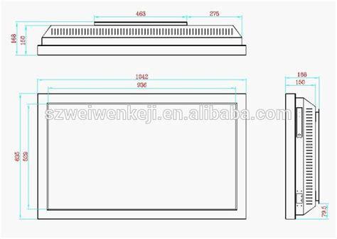 Tv Led Samsung Berbagai Ukuran 46inch wall mounted with samsung led tv digital photo