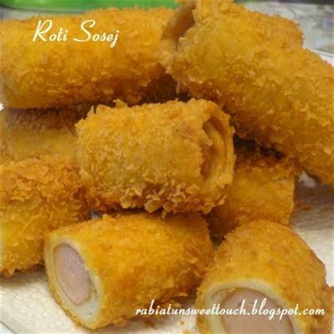 cara membuat roti goreng sosej pautan kasih sosej roll ii