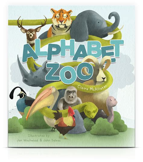 alphabet zoo for boys a personalized abc reading book