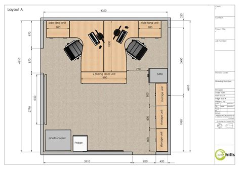 site office layout plan planning room layouts hills office furniture