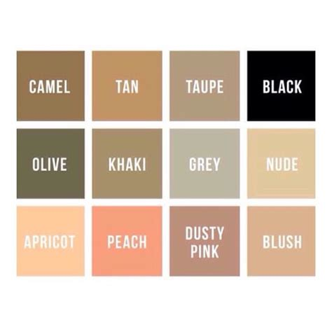 khaki colors related keywords suggestions for khaki color chart