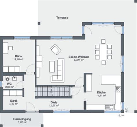 Grundriss Eg Einfamilienhaus by Grundriss Eg Einfamilienhaus In Hanglage Weberhaus