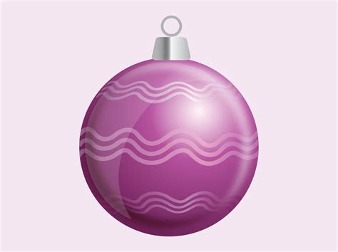 vector christmas ornament