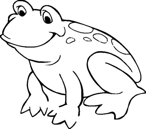 easy frog coloring page frog coloring pages for kids coloring home