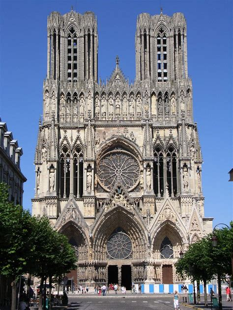 gothic architecture reims cathedral wikipedia